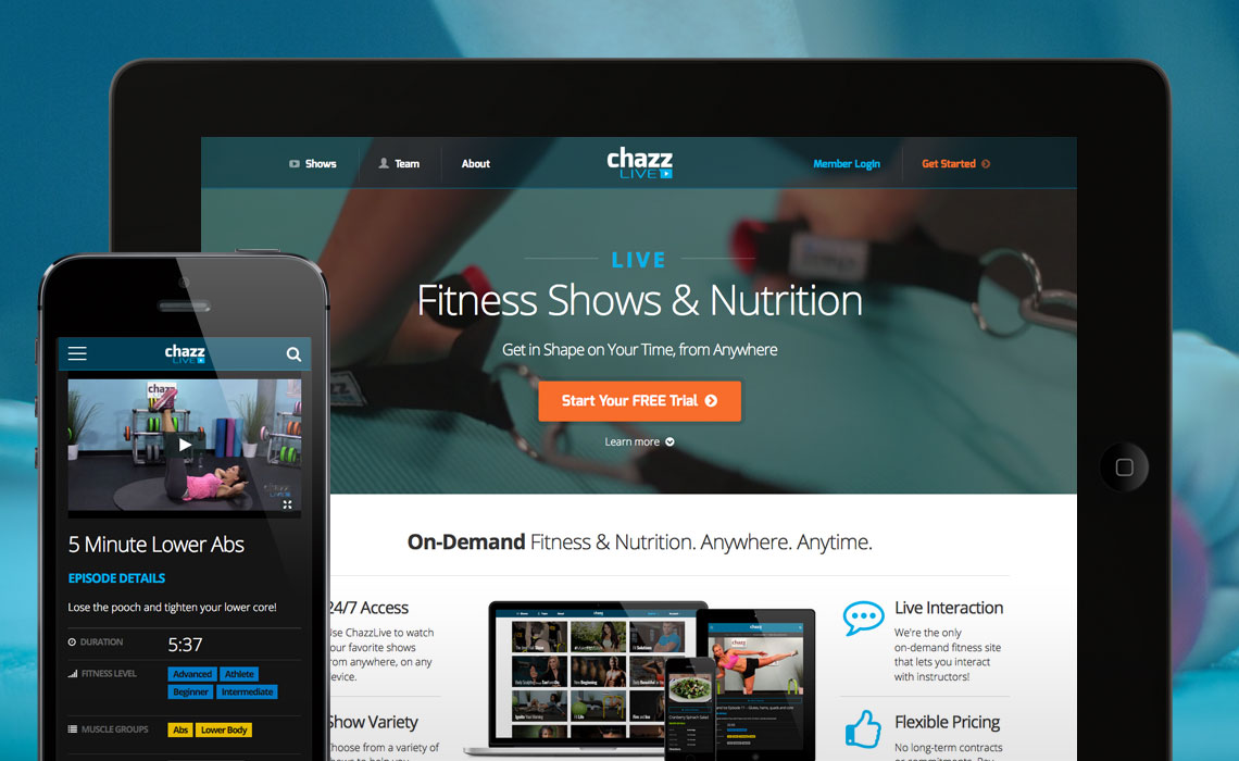 Online Fitness Membership Site