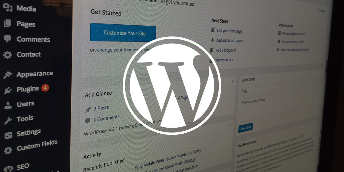 5 Reasons to Choose Wordpress for your Project